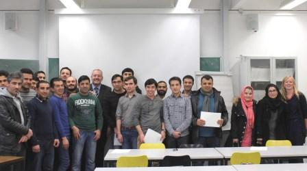 Afghanistan Graduated Bachelor Upgrading Students March 2015 bearbeitet