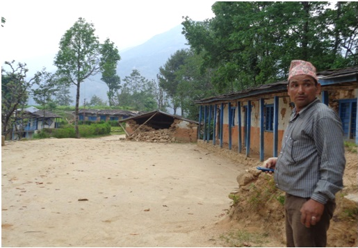 Nepal lamidanda school after